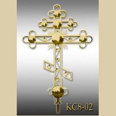 Крест с патриаршим шаром КС8-02