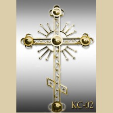 Крест с патриаршим шаром КС-02