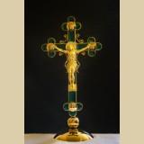 Крест с фацетированными элементами