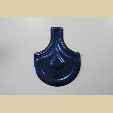 Металочерепица с синим напылением