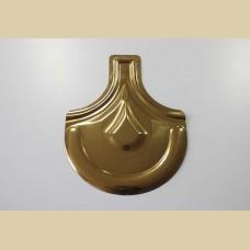 Металочерепица с напылением под золото