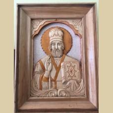 Икона Николая Чудотворца (дерево)